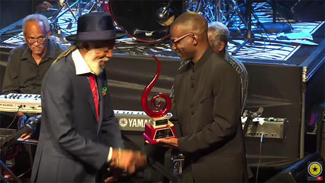 Big Youths Receives JaRIA Iconic Artist Award 2018 (OnStage TV News) [2/25/2018]