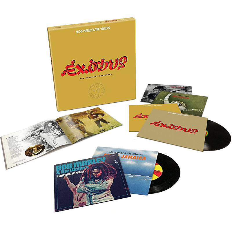 Bob Marley & The Wailers - Exodus 40 - The Movement Continues [Super Deluxe Edition]