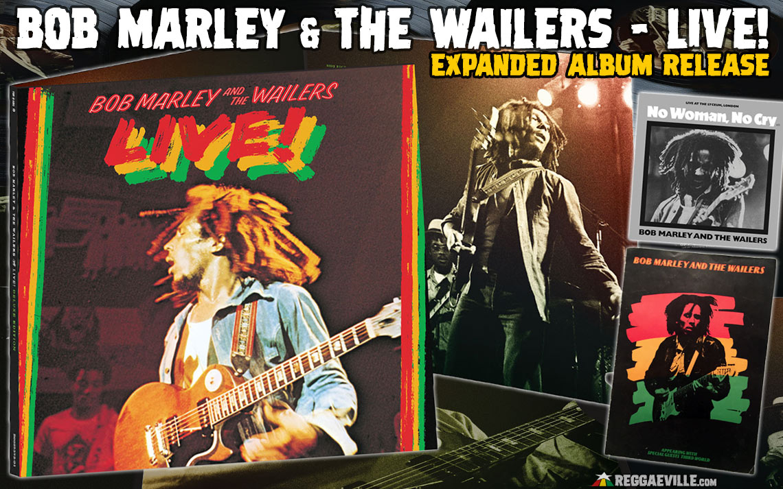 Bob Marley The Wailers Live New Expanded Album Release