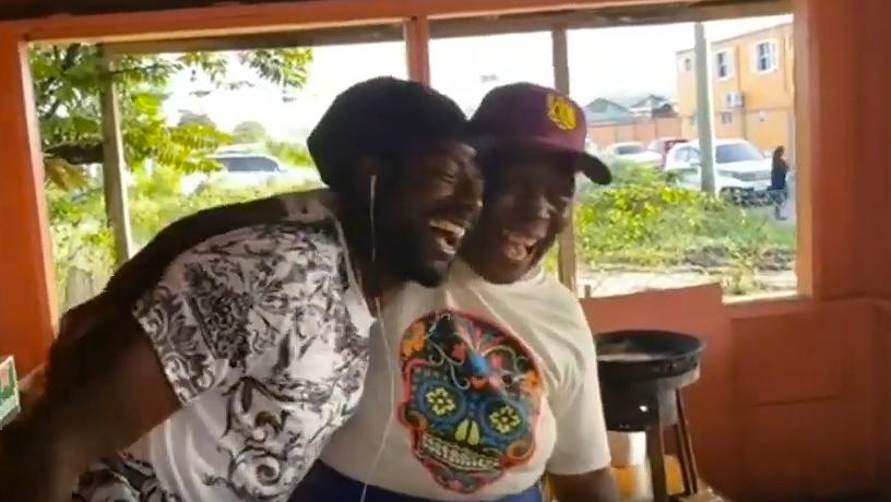 Buju Banton visits Ms Lashley in Antigua [8/10/2019]