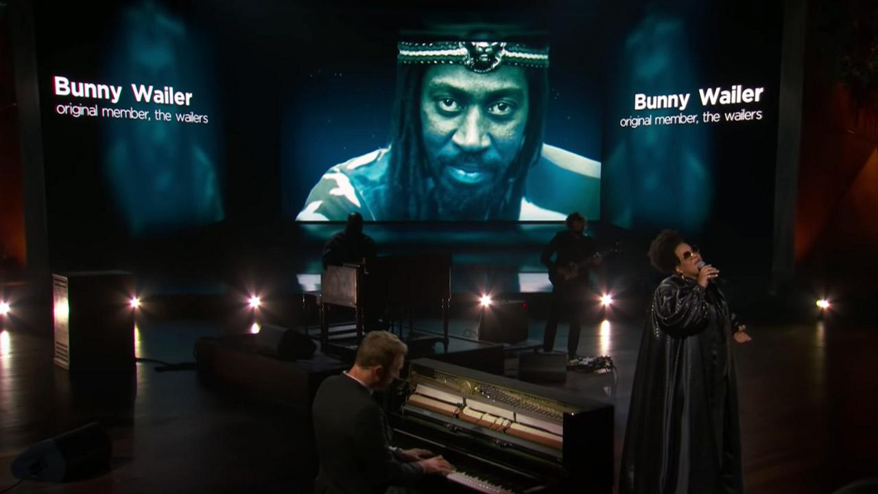 Bunny Wailer @ In Memoriam - Grammy Awards 2021 [3/14/2021]