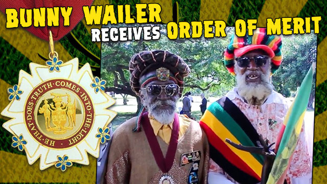 Bunny Wailer receives Order of Merit [10/17/2017]