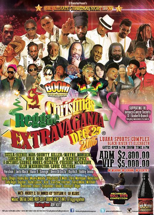 Christmas Reggae Extravaganza 2016