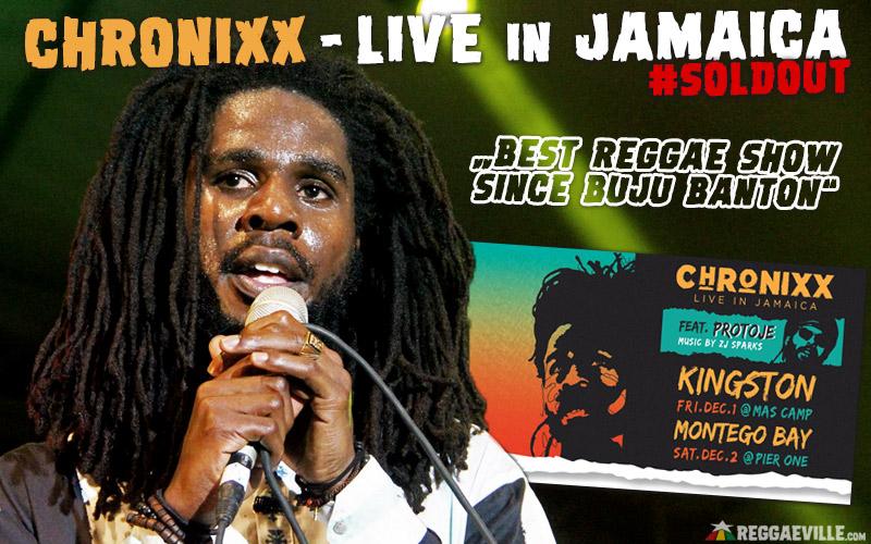 Chronixx Live in Jamaica - Best Reggae Show Since Buju Banton!