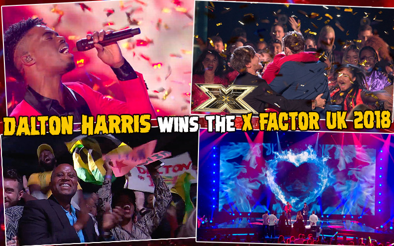 Dalton Harris Wins The X Factor UK 2018