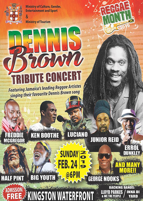 Dennis Brown Tribute Concert 2019