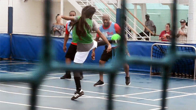 Football Tournament @ Welcome To Jamrock Reggae Cruise 2017 [11/14/2017]