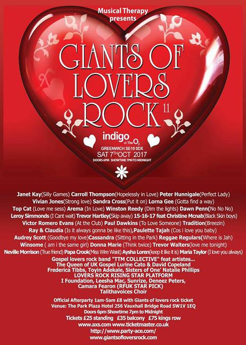 Giants Of Lovers Rock 2017