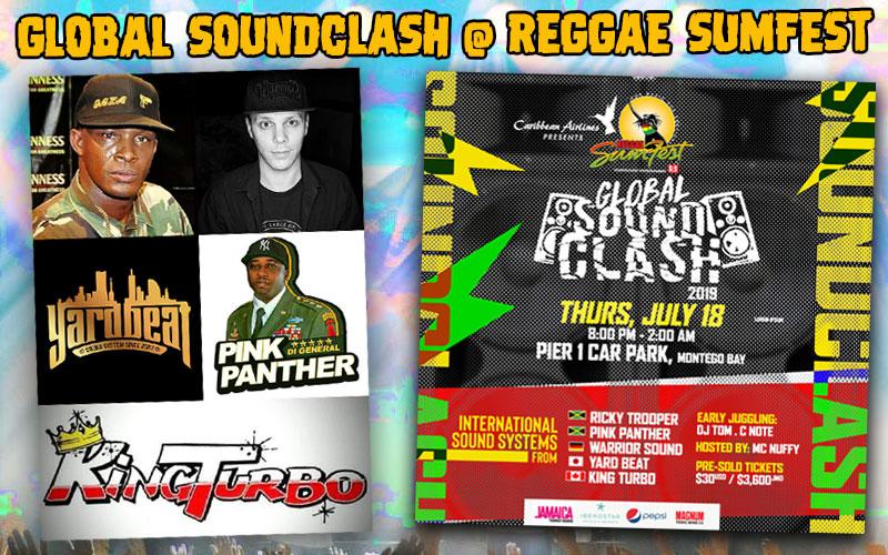 Global Soundclash @Reggae Sumfest 2019