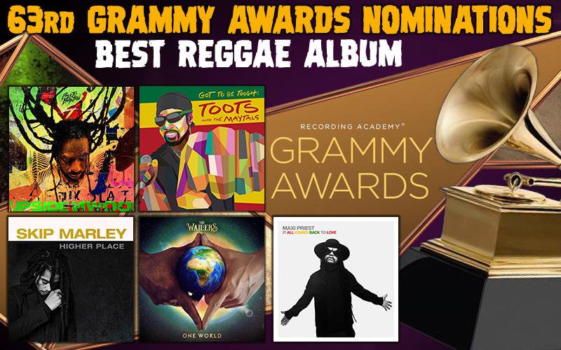 Best Reggae Album Nominations @63rd Grammy Awards