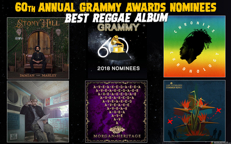 Grammy Nominees 2018 - Best Reggae Album