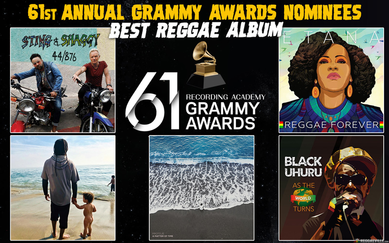 Grammy Nominees 2019 - Best Reggae Album