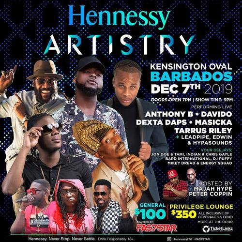 Hennessy Artistry Barbados 2019
