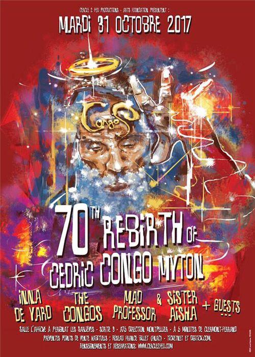 70th Rebirth of Cedric Congo Myton