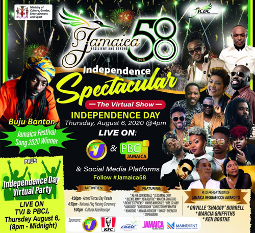 Jamaica 58 Independence Spectacular 2020
