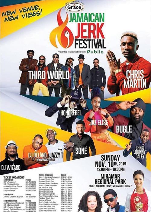 Jamaican Jerk Festival - Florida 2019