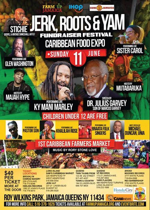 Jerk, Roots & Yam Foundraiser Festival 2017