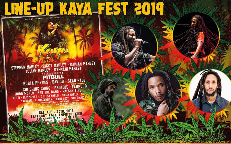 Line-Up Announcement Kaya Fest 2019