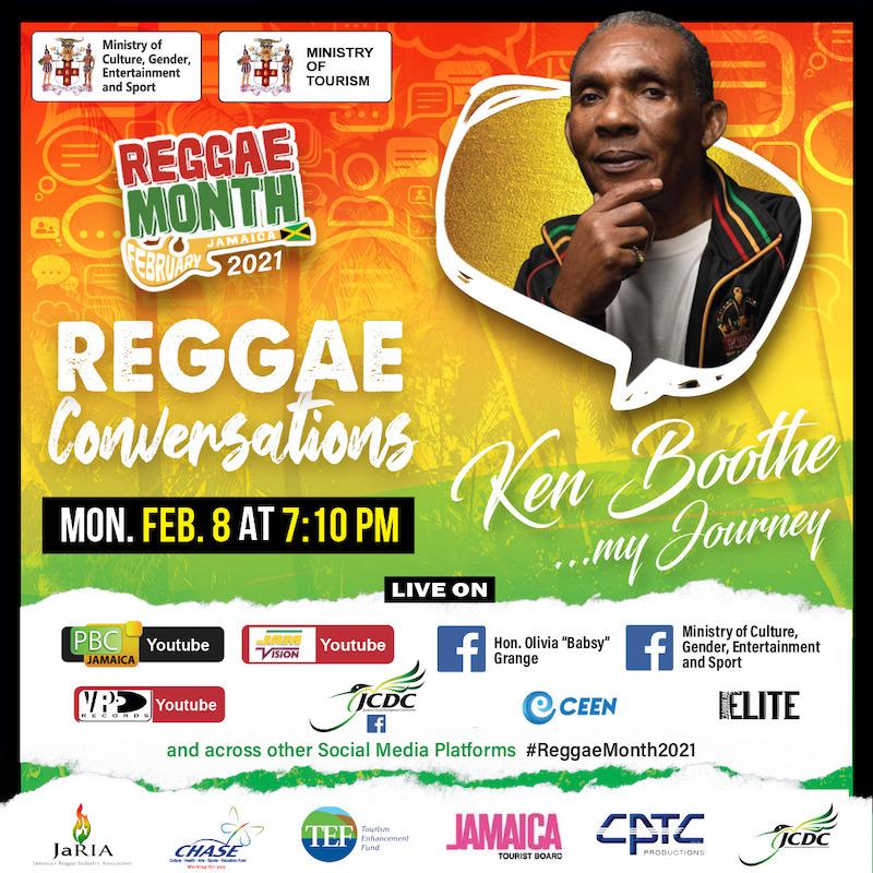 Reggae Conversations with Ken Boothe 2021