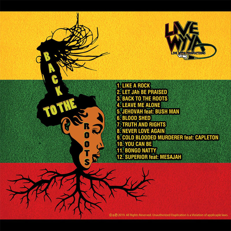 Live Wyya - Back To The Roots