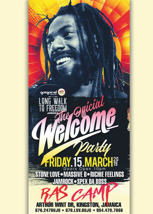 Long Walk To Freedom - Welcome Party 2019