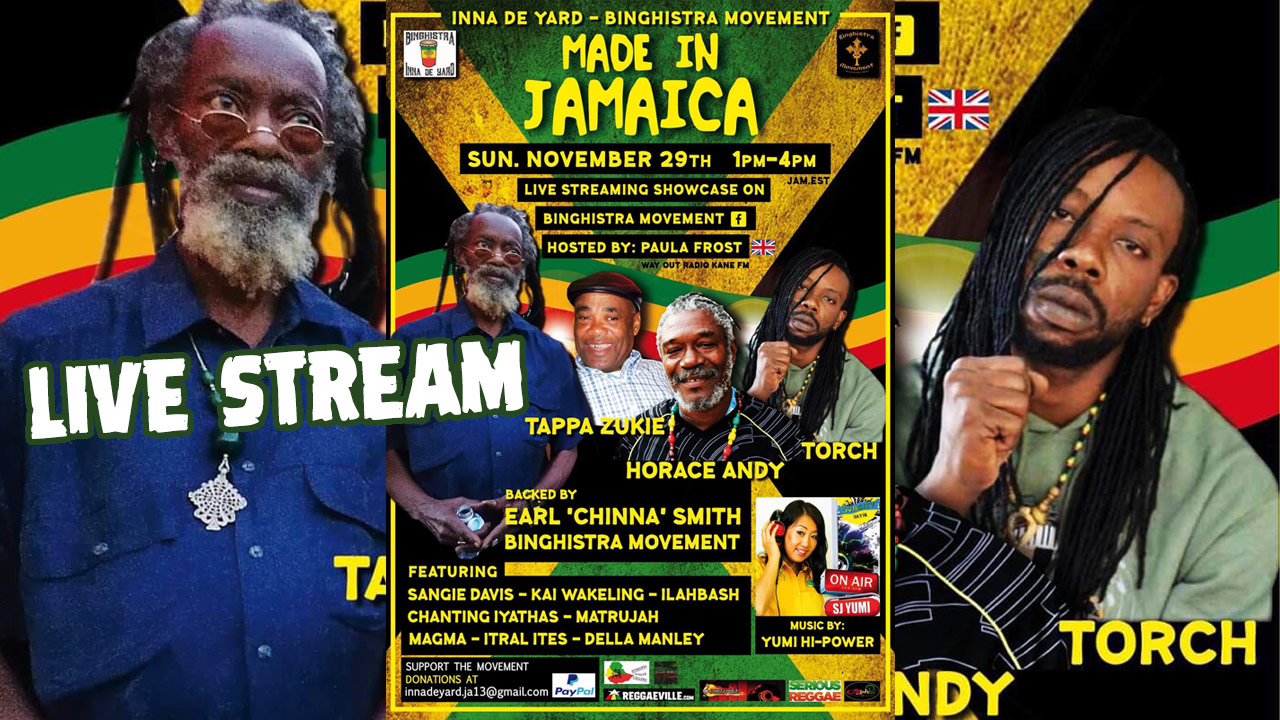 Made in Jamaica 2020 - Live Stream [11/29/2020]