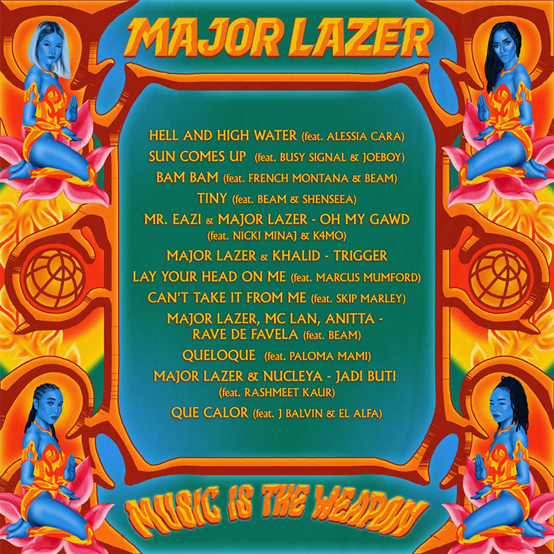 Major Lazer - Music Is The Weapon