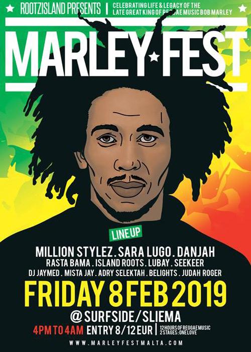 Marley Fest Malta 2019