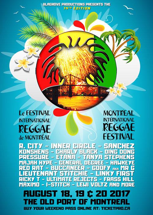 Montreal Reggae Festival 2017