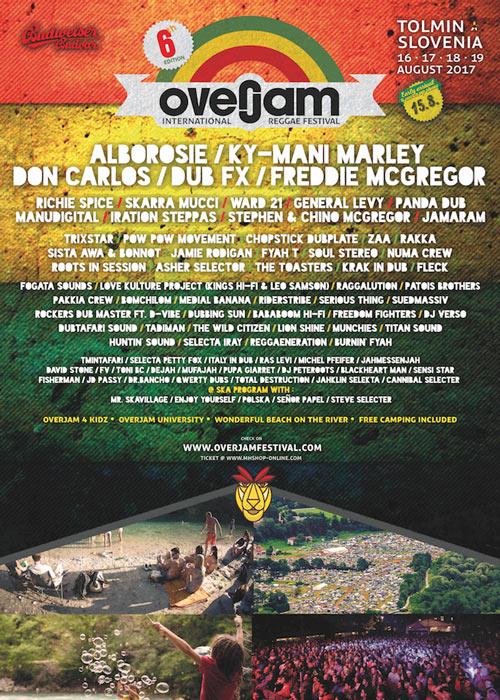 Overjam Reggae Festival 2017