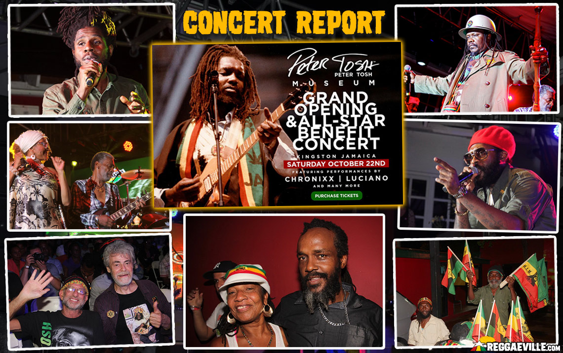 Report: All-Star Benefit Concert @ Peter Tosh Museum 2016