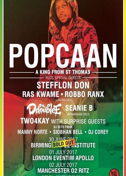 Dates: Popcaan