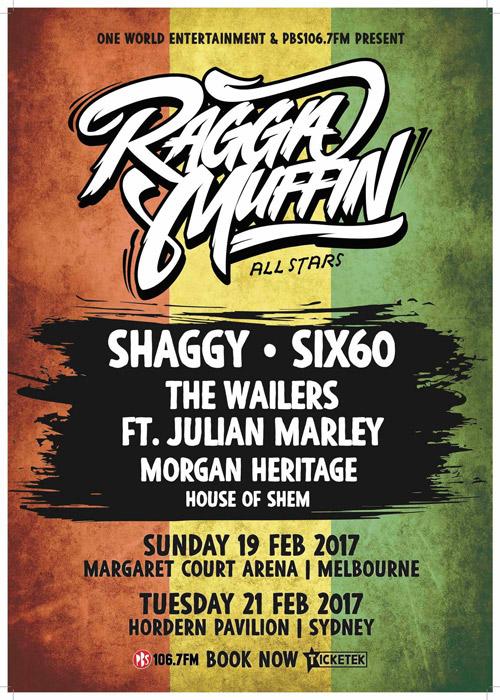 Raggamuffin All-Stars 2017 - Melbourne