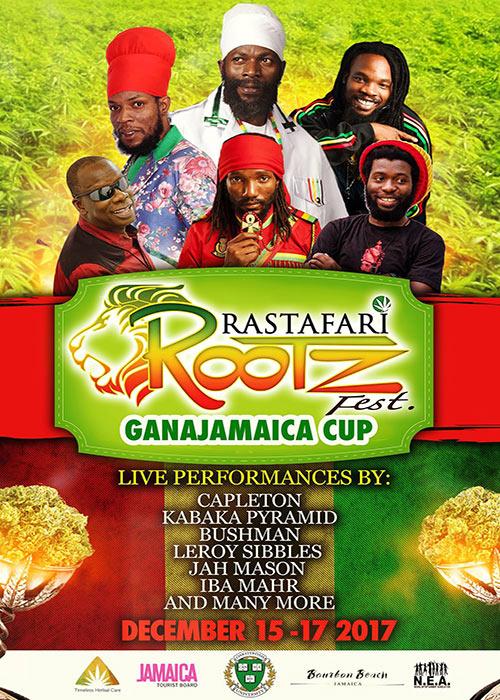 Rastafari Rootz Fest - Ganjamaica Cup 2017