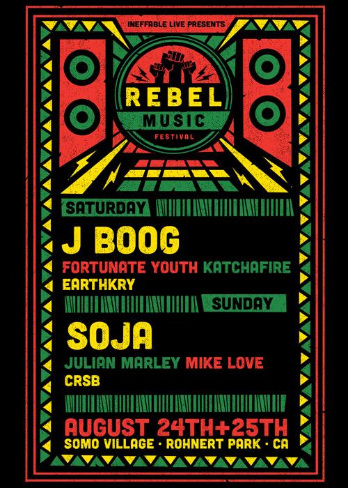 Rebel Music Festival 2019