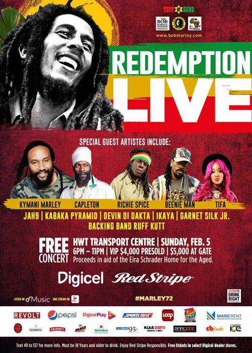 Redemption Live 2017