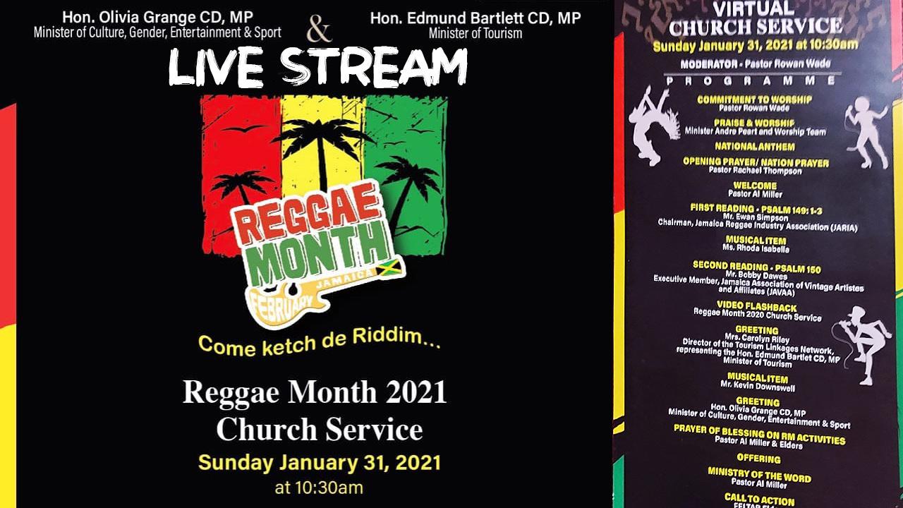 Reggae Month 2021 - Church Service [1/31/2021]