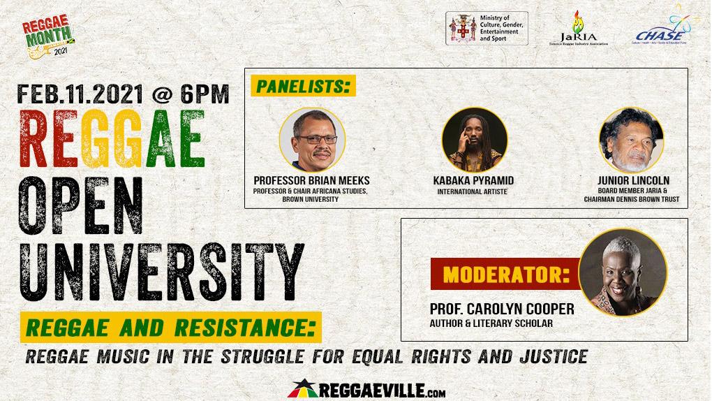 Reggae Open University - Reggae and Resistance [2/11/2021]