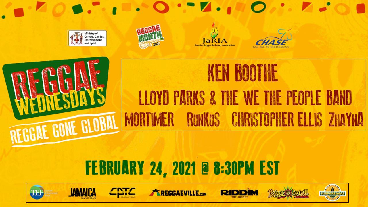 Reggae Wednesdays - Reggae Gone Global 2021 (Live Stream) [2/24/2021]