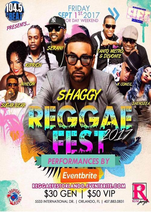 Reggae Fest Orlando 2017
