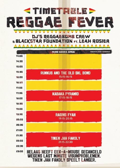 Reggae Fever - Groningen 2017