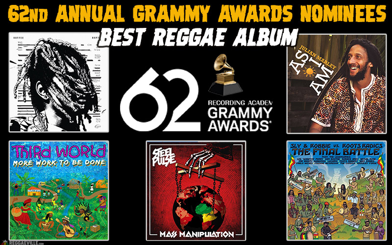 2020 Best Picture Nominees.Best Reggae Album Nominations Grammy Awards 2020