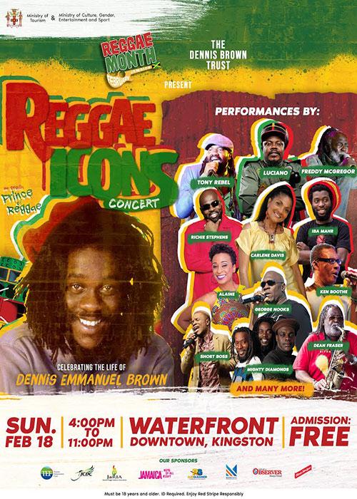 Reggae Icons Concert 2018