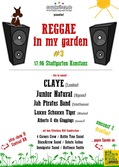 Reggae In My Garden 2017