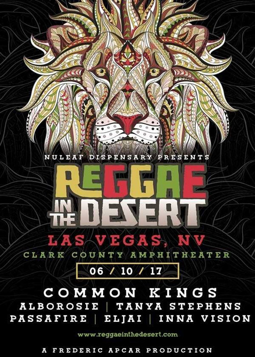 Reggae In The Desert 2017