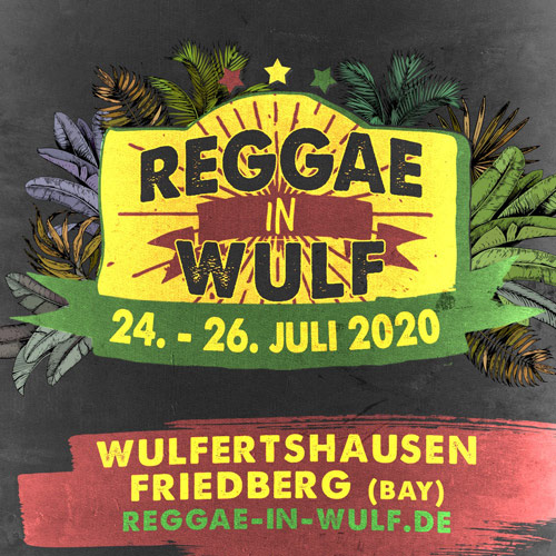 CANCELLED: Reggae In Wulf 2020