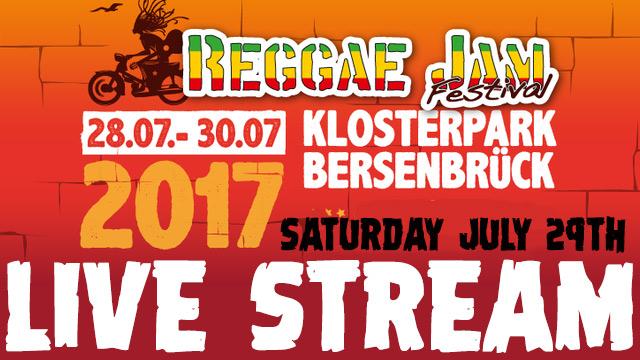 Reggae Jam 2017 - Live Stream (Day Two) [7/27/2017]