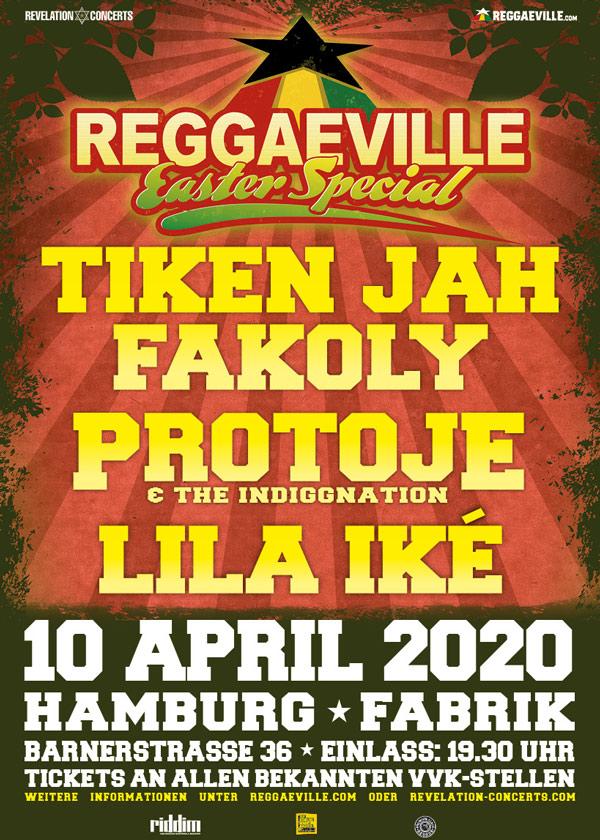 Cancelled: Reggaeville Easter Special - Hamburg 2020