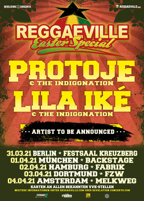 Reggaeville Easter Special - Berlin 2021