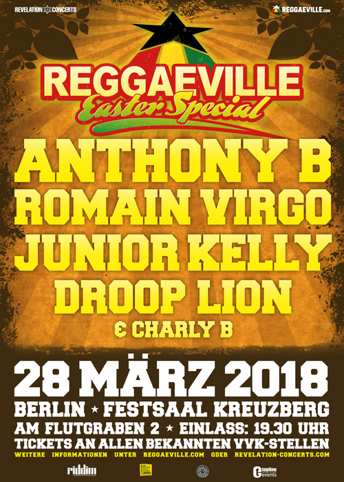 Reggaeville Easter Special - Berlin 2018
